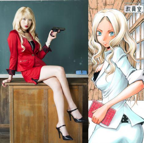 元KARAのジヨン またもアニメ実写化出演 暗殺教室