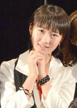 57thシングル「TIKI BUN/シャバダバ ドゥ/見返り美人」リリースイベントを行ったモーニング娘。'14・工藤遥 (C)ORICON NewS inc.