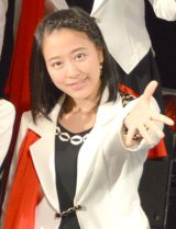 57thシングル「TIKI BUN/シャバダバ ドゥ/見返り美人」リリースイベントを行ったモーニング娘。'14・小田さくら (C)ORICON NewS inc.