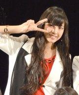 57thシングル「TIKI BUN/シャバダバ ドゥ/見返り美人」リリースイベントを行ったモーニング娘。'14・飯窪春菜 (C)ORICON NewS inc.