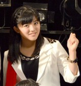 57thシングル「TIKI BUN/シャバダバ ドゥ/見返り美人」リリースイベントを行ったモーニング娘。'14・鈴木香音 (C)ORICON NewS inc.