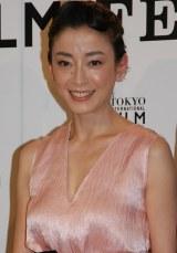 『第27回東京国際映画祭』コンペティション部門で唯一の日本代表作品『紙の月』に主演する宮沢りえ。海外進出にも意欲を見せていた (C)ORICON NewS inc.