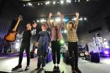 CDデビュー5周年ツアーを日比谷野音で締めくくったOKAMOTO'S
