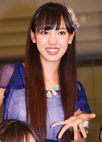 新アルバム『14章〜The message〜』発売記念イベントを行ったモーニング娘。'14・飯窪春菜