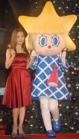 赤のドレスで美脚を披露した板野友美 (C)ORICON NewS inc.