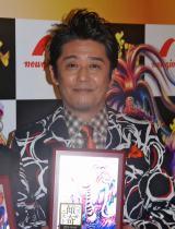 『ベスト傾奇(かぶき)ニスト2014』の「男性部門」を受賞した坂上忍 (C)ORICON NewS inc.