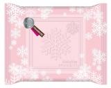 雪の結晶のモチーフを散りばめたパッケージ『メルティーキッス』(フランボワーズ)