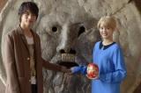 『神さまの言うとおり』で共演し『第9回ローマ国際映画祭』に出席した福士蒼汰&山崎紘菜