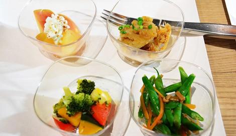 ポーラの社員食堂で提供されている女性の美容や健康を考えたメニューを紹介 (C)oricon ME inc.