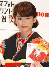 キヤノン『PIXUS スマフォトプリント!年賀状』新作CM発表会に出席した桐谷美玲