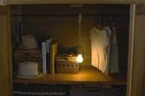 木目調のデザイン『ロープランプ』(税抜1200円)なら大人っぽいインテリアにも