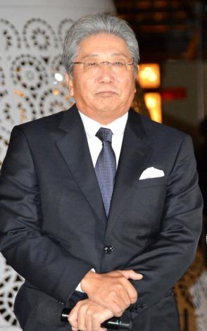 『WHISKY HILLS AWARD2014』授賞式に出席した伊集院静氏 (C)ORICON NewS inc.