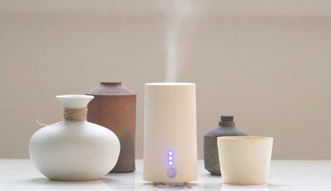 まるで陶器の質感 好きな香りを楽しめるアロマディフューザー『Aromist mini(アロミストミニ)』(税込4536円)