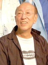 ラジオ番組でジャニー喜多川氏にインタビューする蜷川幸雄 (C)ORICON NewS inc.