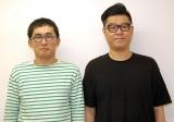『キングオブコント2014』優勝後の心境を明かしたシソンヌの(左から)じろう、長谷川忍 (C)ORICON NewS inc.