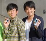 フルーツポンチの(左から)亘健太郎と来月34歳の誕生日を迎える村上健志 (C)ORICON NewS inc.