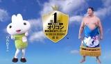 愛くるしい動きで生徒をたちを応援する公式キャラクター・ウカルちゃんと遠藤関
