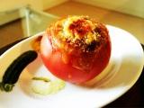 ボンカレーを使用した「トマトカレーファルシ」