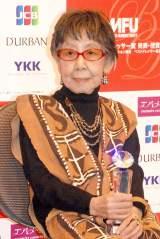 100歳で『ベストドレッサー賞』を受賞したフォトジャーナリスト・笹本恒子氏 (C)ORICON NewS inc.