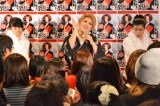 著書『IKKO 心の格言 200』の発売記念イベントを行ったIKKO  ダンサーとともに歌の披露も(C)oricon ME inc.