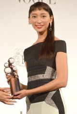 『2014 VOGUE JAPAN Women of the Year&VOGUE JAPAN Women of Our Time』受賞記者会見に出席した杏 (C)ORICON NewS inc.