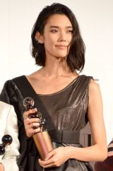 『2014 VOGUE JAPAN Women of the Year&VOGUE JAPAN Women of Our Time』受賞記者会見に出席したTAO (C)ORICON NewS inc.