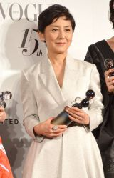 『2014 VOGUE JAPAN Woman of the Year&VOGUE JAPAN Woman of Our Time』受賞記者会見に出席した国谷裕子 (C)ORICON NewS inc.