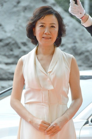 『2014 VOGUE JAPAN Woman of the Year&VOGUE JAPAN Woman of Our Time』受賞記者会見に出席した中園ミホ(C)ORICON NewS inc.