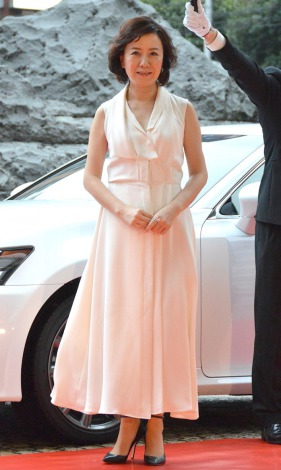 『2014 VOGUE JAPAN Woman of the Year&VOGUE JAPAN Woman of Our Time』受賞記者会見に出席した中園ミホ (C)ORICON NewS inc.