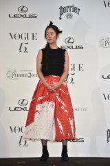 『2014 VOGUE JAPAN Woman of the Year&VOGUE JAPAN Woman of Our Time』を受賞した、黒木華