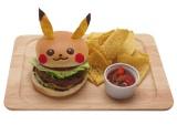 「ピカチュウのテリヤキバーガー」¥1,080(税込) (C)Nintendo・Creatures・GAME FREAK・TV Tokyo・ShoPro・JR Kikaku (C)Pokemon (C)1998-2014 ピカチュウプロジェクト (C)2014 Pokemon. (C)1995-2014 Nintendo/Creatures Inc. /GAME FREAK inc.ポケットモンスター・ポケモン・Pok?monは任天堂・クリーチャーズ・ゲームフリークの登録商標です。