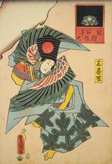 五穀豊穣を祈る日本古来の伝統芸能を糸操りの趣向で演じる「操り三番叟」戯れ隈(一富士二鷹三茄子)