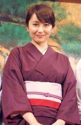 『花嫁のれん』で昼ドラに初出演する矢田亜希子 (C)ORICON NewS inc.