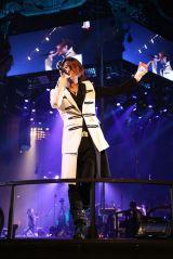 10年前に約束した東京ドーム公演を発表したGLAY(写真はTERU)