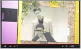 スタジオに飾られた極楽とんぼの写真(ゼロテレビ『めちゃ×2ユルんでるッ!』より)