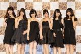 NMB48×Bijoude CM&コラボレーションジュエリー発表記者会見に出席したNMB48