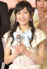 『第56回 輝く!日本レコード大賞』記者会見に出席したAKB48・渡辺麻友 (C)ORICON NewS inc.