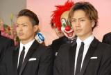 『第56回 輝く!日本レコード大賞』記者会見に出席した三代目 J Soul Brothers(左から)今市隆二、登坂広臣 (C)ORICON NewS inc.