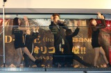 新橋で胸ダンスを披露したBIGBANGのD-LITE(ディライト)