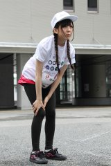 『未来(あした)への道 1000km縦断リレー』に参加した大和里菜