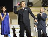 2年連続で開会宣言をした田中将大投手(中央)=『第4回 AKB48紅白対抗歌合戦』(撮影:鈴木かずなり)