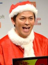 『NEC×Lenovoデジタルクリスマスイベント』に出席したますだおかだ・岡田圭右 (C)ORICON NewS inc.