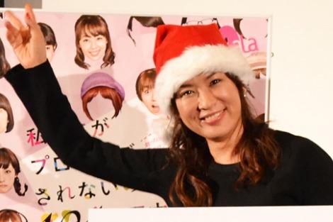 『わたプロ』クリスマス会に参加した鈴木砂羽 (C)oricon ME inc.