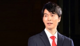 ダイハツの軽自動車『新型ムーヴ』の発売記念イベントに登場した長谷川博己 (C)oricon ME inc.