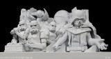 『第66回さっぽろ雪まつり』(2月5日〜11日)に設置される大雪像「雪のスター・ウォーズ」模型(C)2014Lucasfilm Ltd. & TM. All Rights Reserved