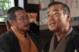 NHK連続テレビ小説『マッサン』年明け1月16日より登場予定のオール阪神(左)と12月24日の放送に出演するオール巨人(右)(右)(C)NHK