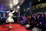 ファン700人を前に新曲を披露した渡辺美優紀
