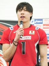 バレーボール日本代表・清水邦広選手(C)月刊バレーボール