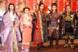 出演者一同(左から)賀来千香子、倉科カナ、上川隆也、柳下大、里見浩太朗 (C)ORICON NewS inc.