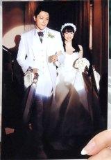 挙式時の写真も公開=結婚会見を行った歩りえこ (C)ORICON NewS inc.